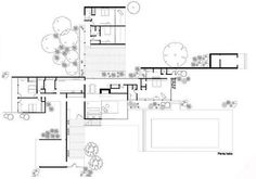 kaufmann house plan  Google Search  Design in 2018  Pinterest  House House plans and Desert