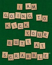 If my mom was on pinterest, she would love this...I wonder how many hours she spends a week on Scrabble or Words with friends? :)
