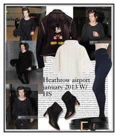 """Heathrow airport, january 2013"" by marijanes2 ❤ liked on Polyvore featuring Oris, Philipp Plein, MaxMara, Akira, Yves Saint Laurent and Rupert Sanderson"