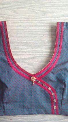 Choli Designs, Blouse Designs, Gold Blouse, Fashion Blouses, Amai, Cute Blouses, Neck Design, Woman Clothing, Blouse Patterns