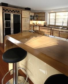 Art Deco Kitchens by Aspect Kitchens, Surrey