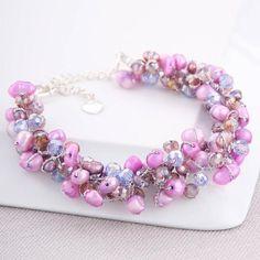 Craft ideas 2442 - Pandahall.com #bracelet #beadsbracelet #pandahall