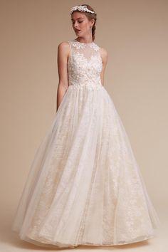 Ivory/cream Carissa Gown | BHLDN