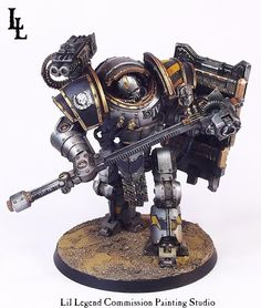 Shield of the Iron Tyrant; Iron Circle Commission Iron Warriors Battle Automata…