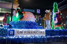 2019 GM Financial Parade of Lights Flower Mound, Fort Worth, Texas, Seasons, Lights, Birthday, Holiday, Color, Birthdays