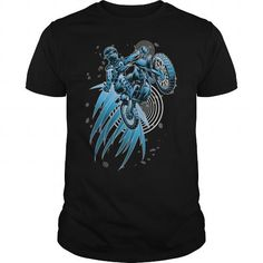 Awesome Motocross Lovers Tee Shirts Gift for you or your family member and your friend:  Blue Psycho Dirt Biker T-Shirt  Tee Shirts T-Shirts