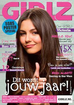 Proefabonnement: 5x Girlz! € 14,95: Girlz! is het lijfblad voor meiden die alles willen weten over o.a. fashion, make-up, hunks en gossip. Lees Girlz nu met korting of geef het blad cadeau!