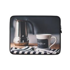 This lightweight, form-fitting Morning 819362 Laptop Sleeve is a must-have for any laptop owner on the go. Hat Embroidery Machine, Sleeve Designs, Laptop Case, Order Prints, Laptop Sleeves, Biodegradable Products, Printer, Bubbles, Mugs
