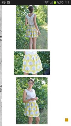 Style of skirt