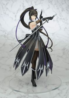【Shining Blade】 Sakuya Complete Figure   [Manufacturer]Arcadia  [Release Date]late July-2013  [Material] PVC & ABS  [Size] appx. 255mm  URL: http://aikoudo.com/goods_en_12533.html