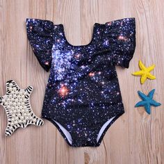 Nebula Galaxy Swimsuit from kidspetite.com!  Adorable & affordable baby, toddler & kids clothing. Shop from one of the best providers of children apparel at Kids Petite. FREE Worldwide Shipping to over 230+ countries ✈️  www.kidspetite.com  #baby #swimwear #swim #newborn #swimsuit #infant #girl #beach Two Piece Swimsuits, One Piece Swimwear, Bikini Swimwear, Baby Girl Swimwear, Swimsuit Material, Kids Prints, Black Swimsuit, Toddler Girl, Beachwear
