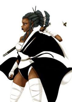 Bushido Penny a. Black Butterfly Art by: Chalet Askew a. DjDontTouchTheTrim or Social. Black Love Art, Pretty Black Girls, Black Girl Art, Black Girl Magic, Art Girl, Black Cartoon Characters, Black Girl Cartoon, Fantasy Characters, Female Ninja