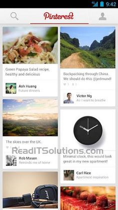 Now Pin Images On Pinterest From Your Android Device