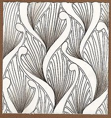 Tangles for Cards | by Jill Houtz
