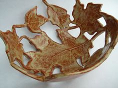 The Skillful Bee: Favorite ART projects in the classroom ~ cut out bowls in slump molds