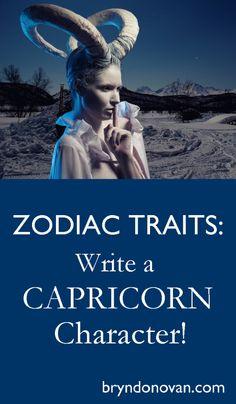 Zodiac Traits – Write a Capricorn Character! Fiction Writing, Writing Quotes, Writing Advice, Writing Help, Writing A Book, Writing Prompts, Writing Ideas, Zodiac Characters, Writing Characters