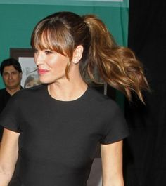 Jennifer Garner's ponytail