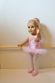 Ballet recital costume for American Girl tutu shoes by KidWares, $25.00