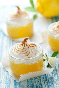 Crème citron et sa meringue