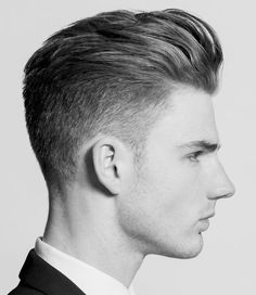 mens hairstyle fade hair