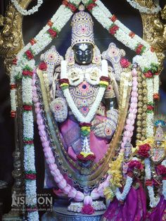 Today's (23-June-2017) Netra Darshan of Sri Srinivasa Govinda @ ISKCON Bangalore.