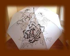 Cute Umbrellas, Decoupage, Stencils, Table Lamp, Accessories, Home Decor, Umbrellas Parasols, Umbrellas, Table Lamps