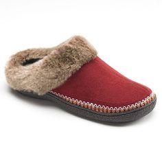 Kohl's Isotoner Slippers for Women | Isotoner Microsuede Clog Slippers - Women