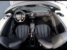 2012 Ferrari 458 Italia Spider Perfetto interior