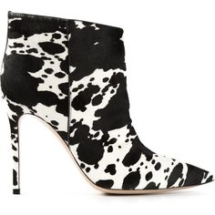 Gianvito Rossi Osaka Ankle Boots ($1,058) found on Polyvore