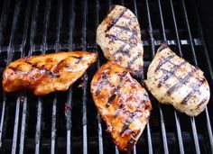 Healthy, Low-Fat Grilled Chicken Recipes & Marinades