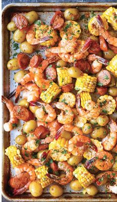 12 Sheet Pan Meals For Easy Weeknight Dinners 9 Sheet Pan sFor Easy Weeknight Dinners & Sheet Pan Shrimp Boil The post 12 Sheet Pan Meals For Easy Weeknight Dinners & Food and Drinks appeared first on Easy dinner recipes . Seafood Recipes, Chicken Recipes, Seafood Dishes, Recipes With Shrimp, Shrimp Dinner Recipes, Salmon Recipes, Grilled Shrimp Recipes, Seafood Platter, Potato Recipes