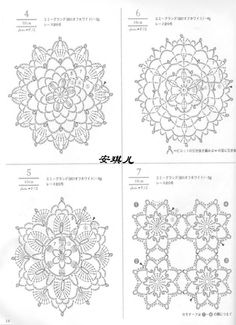 #ClippedOnIssuu from Crochet lacework four seasons [jap]