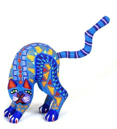 Oaxacan wood carving by Zeny Fuentes