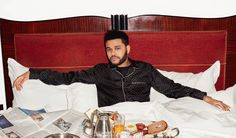 The Weeknd por Terry Richardson para WSJ Magazine