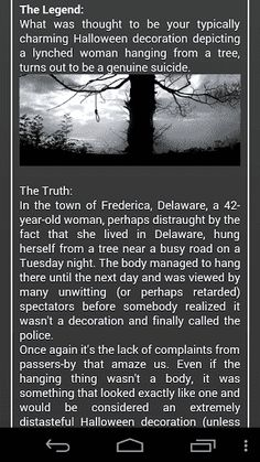 Creepy Tales is an amazing collection of horror stories and terrifying novels to read at stormy night in a circle of friends.<p>Creepy Tales' features:<br>- Entertainment book in your mobile<br>- Many creepypasta stories<br>- Lots of horror stories offline<br>- Convenient book reader<p>If you like horror movies and creepy games, if you have watched the ring, the saw, the shining, the exorcist and you loved it – then Creepy Tales is a perfect handbook for you! The best scary stories and…