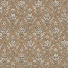This gothic trellis wallpaper features a neutral gold and silver repeated pattern. Browse our full range of Victorian wallpaper and order free samples online. Trellis Wallpaper, Wallpaper Uk, Designer Wallpaper, Victorian Wallpaper, Little Greene, All Wall, Repeating Patterns, Neutral