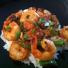 Amazing shrimp recipe with a perfect mixture sauce Shrimp Dishes, Shrimp Recipes, Fish Recipes, Asian Recipes, I Love Food, Good Food, Yummy Food, Tasty, Low Calorie Recipes