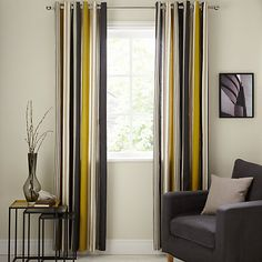 Buy Scion Lace Slate Lined Eyelet Curtains, Grey / Multi Online at johnlewis.com