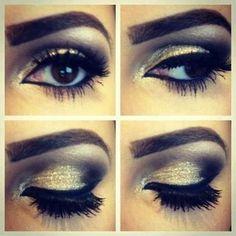 Eyes make-up!