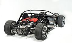 Factory Fiveu0027s Flagshipu0027s Stunning Tube Frame LS Powered Chassis.