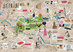 Martin Haake - Berlin map   well this map verely gets my flat, which should be top right corner.
