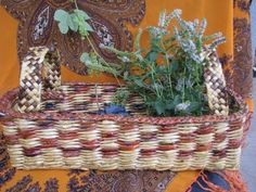 ═► Как плести стенки корзинки / How to plait the walls of a basket - YouTube