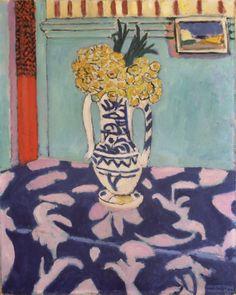 Les coucous, tapis bleu et rose (1911) - Henri Matisse