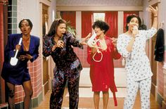 Living Single...who hasn't had a similar moment with the girls? :)