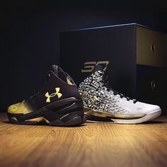 """5a369fa1b9b2  buyyourfitness on Instagram  """"Under Armour celebrates Steph Curry s back-to -back MVP with limited edition shoes. For full release details"""