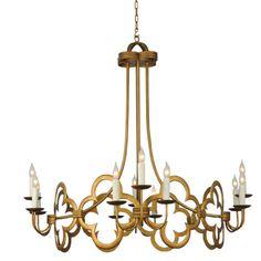 Collections  Maresol 8184  6735.00 Spanish Gold,12 lights 60 watt max 40x40 Candelabra Standard Mounting