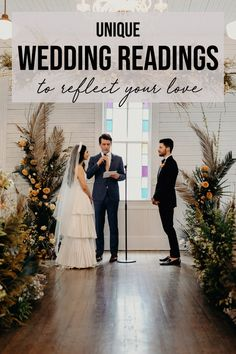 Unique Wedding Readings to Reflect Your Love Wedding Scripture, Wedding Poems, Wedding Blog, Our Wedding, Dream Wedding, Private Wedding, Wedding Rustic, Scripture Readings For Weddings, Wedding Sayings