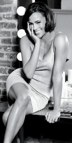 Paula Patton, the wife of Robin Thicke; what a power couple! She must be his muse.
