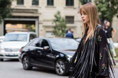Street style from Milan Fashion Week spring/summer '17 - Vogue Australia