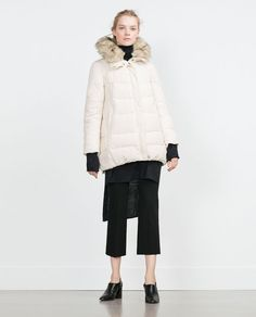 Image 1 of QUILTED ANORAK from Zara